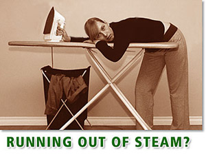 Running out of steam