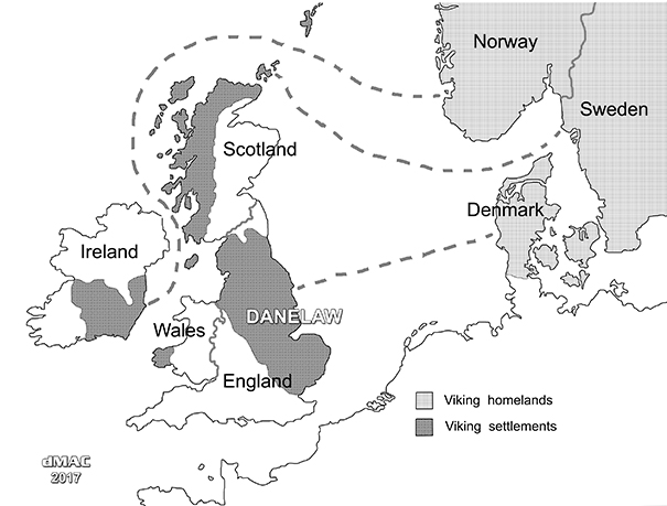 Viking settlements