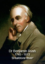 dr benjamin rush By 1807, adams was regularly writing to rush about jefferson, whom he had not  directly discussed before he grew more and more explicit.