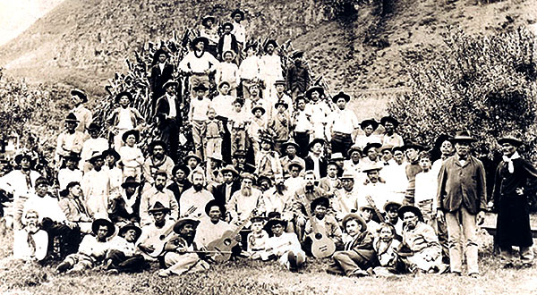 kalaupapa men An interesting island, one of the north pacific group formerly known as the sandwich islands, or as the kingdom of hawaii, then as the republic of hawaii, and since annexation by the united states of america as the territory of hawaii.